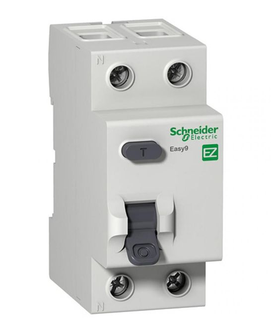 УЗО 25A 30mA 4,5kA тип AC 2 полюса EZ9R34225 Easy9 Schneider Electric